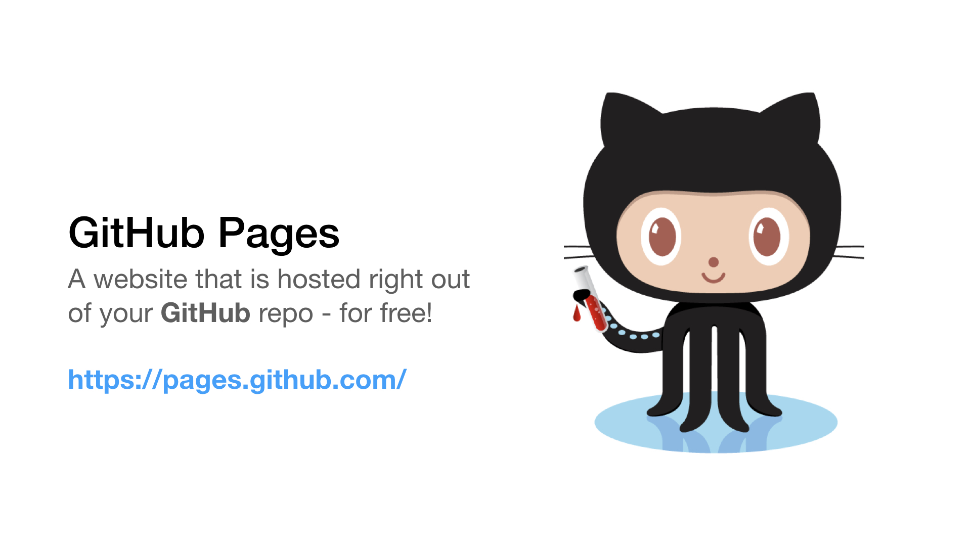 github pages site link